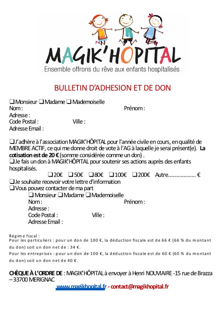 Bulletin adhésion et don 2018 V4